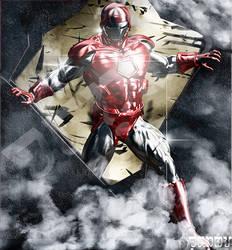 Iron Man Silver Centurion by giumabei