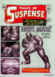 Tales of Suspense 39 Recreation by giumabei