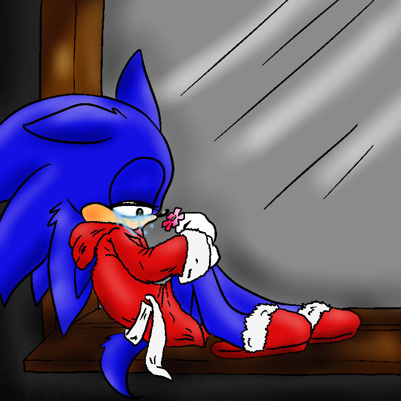 Sonic The Hedgehog Sad Day By Daringashia On Deviantart