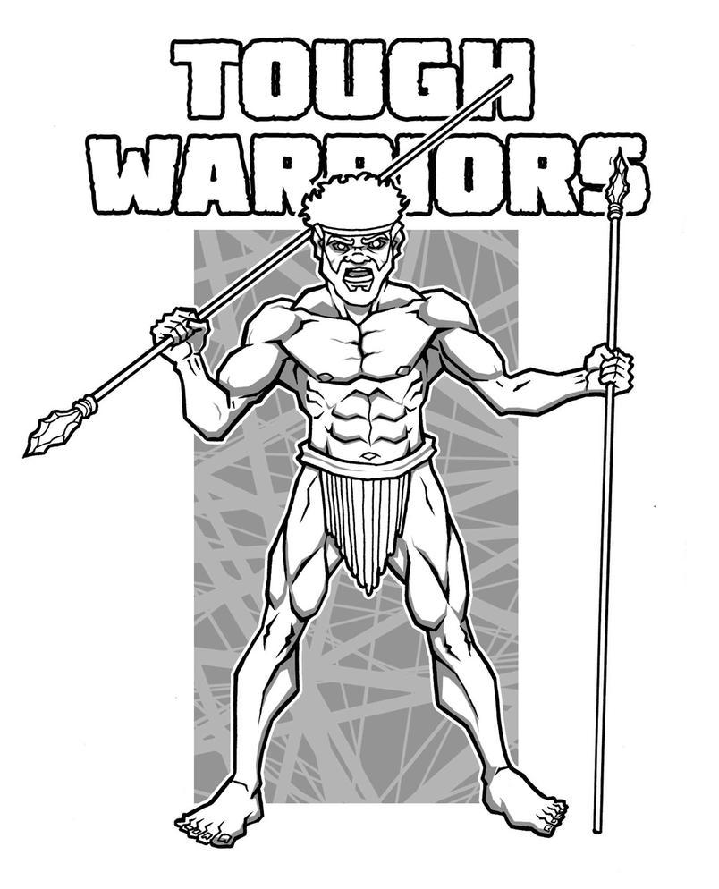 tough warrior by micma
