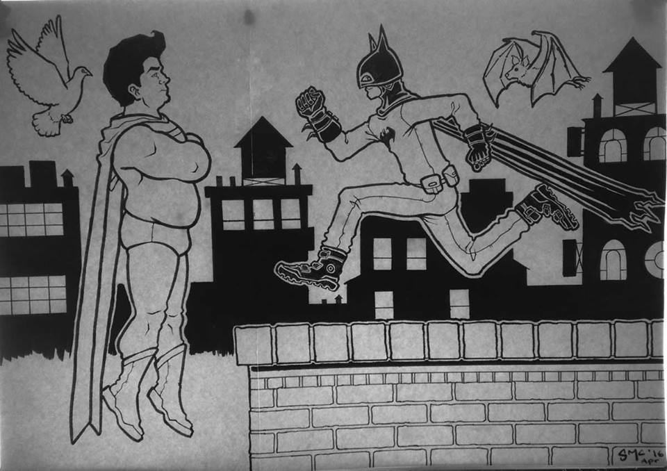 batman vs superman by micma