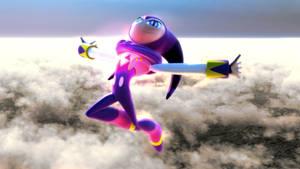 NiGHTS - flying render