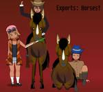 Exports: Horses!