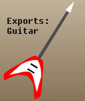 Exports: Guitar by PizzaBurgers