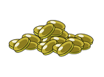 Props: A Lot of Coins