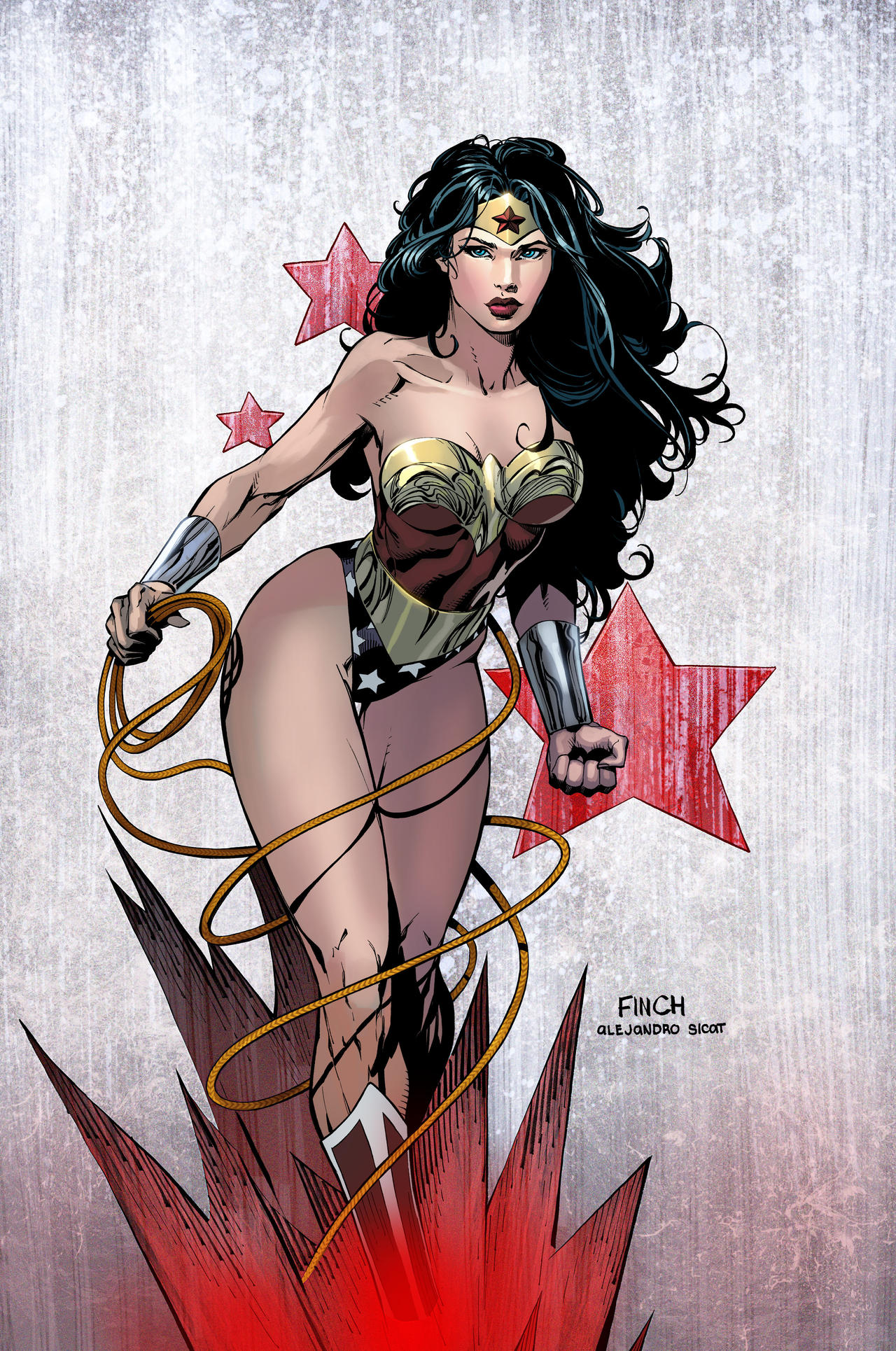 Wonder Woman - David Finch by FabianCobos