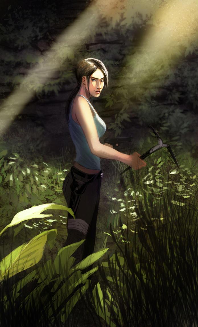 Lara Croft by FabianCobos