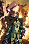 Gambit And Rogue Col