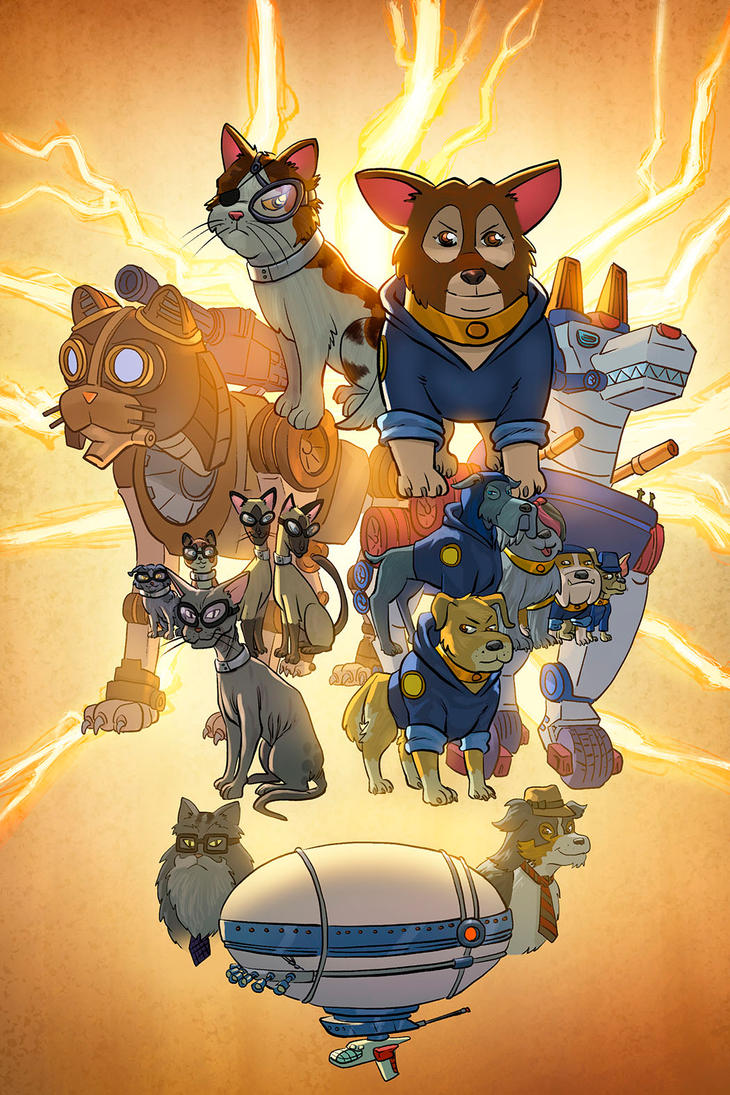 robocatz vs thunder dogs by FabianCobos