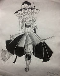 Love-Sketched Ordinary Magician by NestorLight