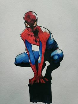 Spiderman Crouch