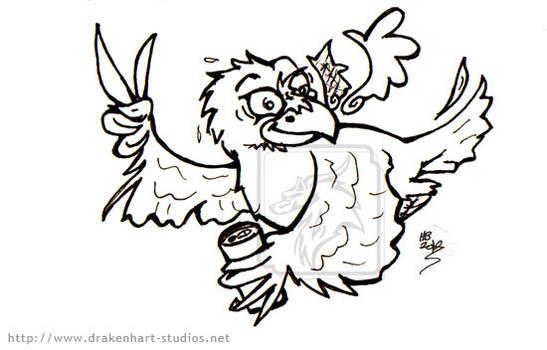 Inks red-bull-raven