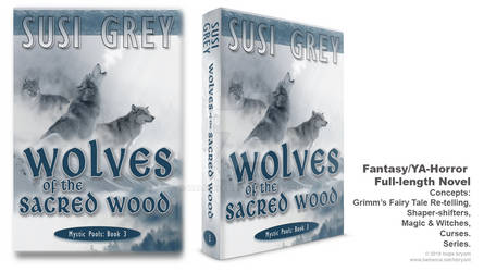 Book Cover Design for Wolves of the Sacred Wood
