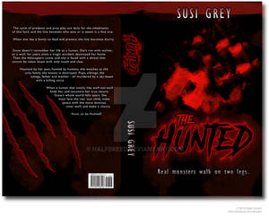 Full Cover Design for The Hunted