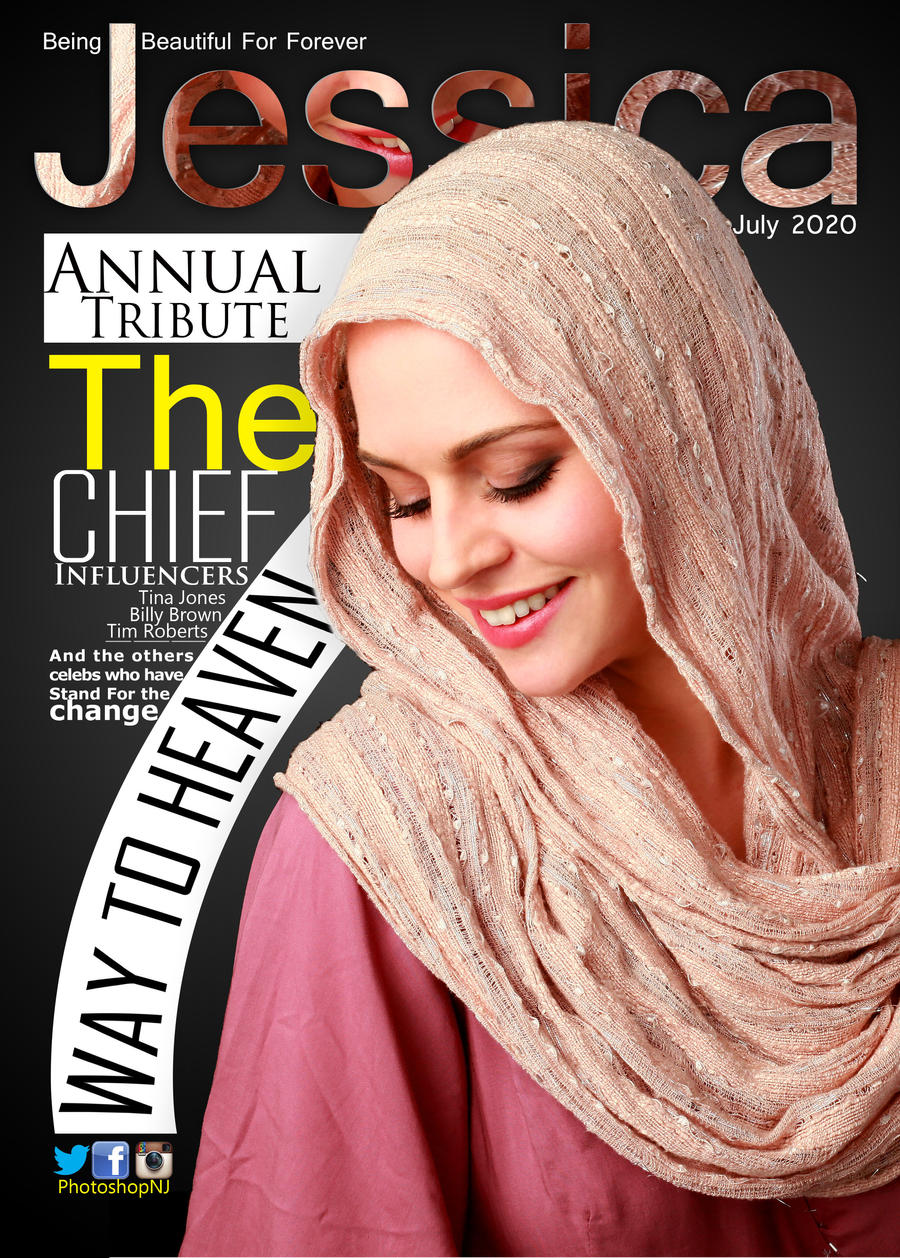 Magazine Cover Design Front Page Photoshop Tut By