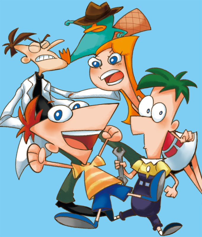 Phineas and ferb by robotoco