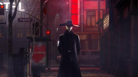 Plague Doctor by BugzBob