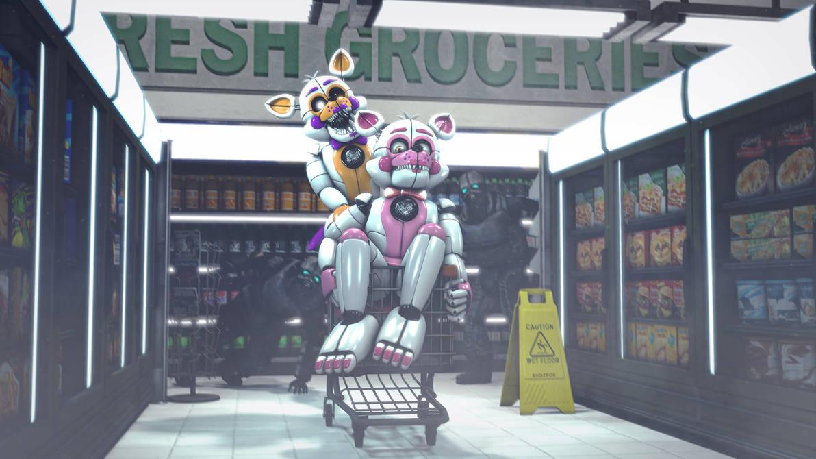 Super Market by BugzBob