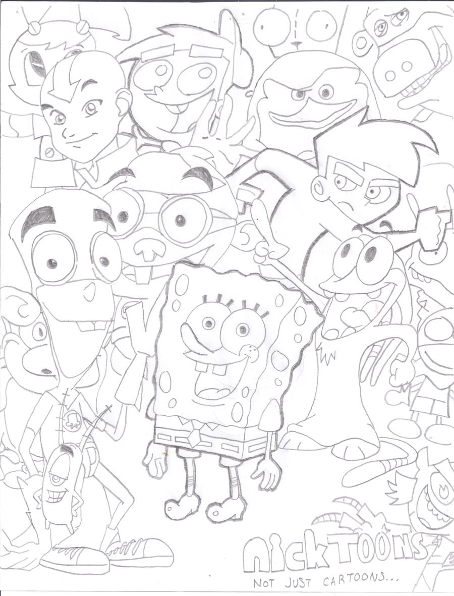 Nicktoons by SpongeDudeCoolPants