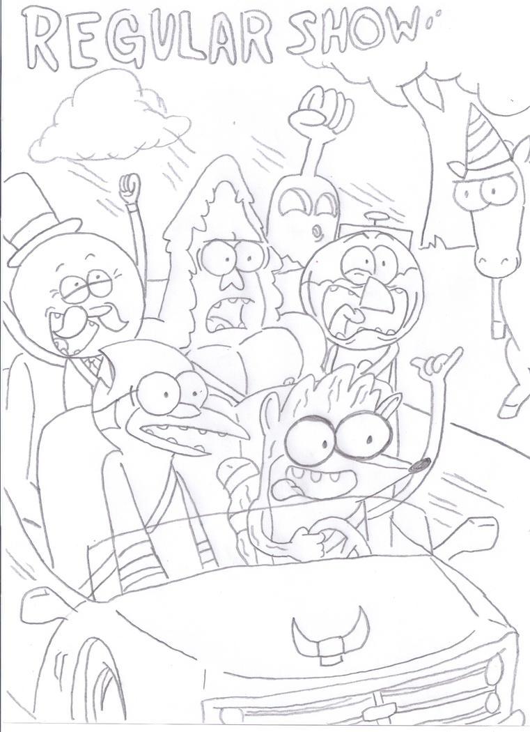Regular Ride by SpongeDudeCoolPants