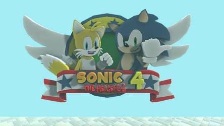 Sonic 4 Episode 2 logo LBP by SpongeDudeCoolPants