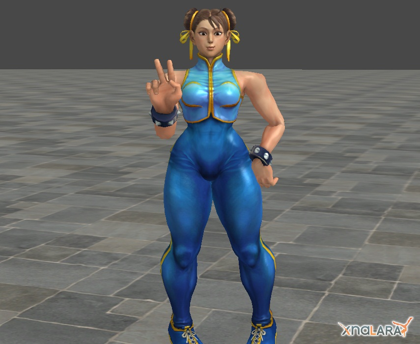 Chun Li (Alpha version) by SpongeDudeCoolPants