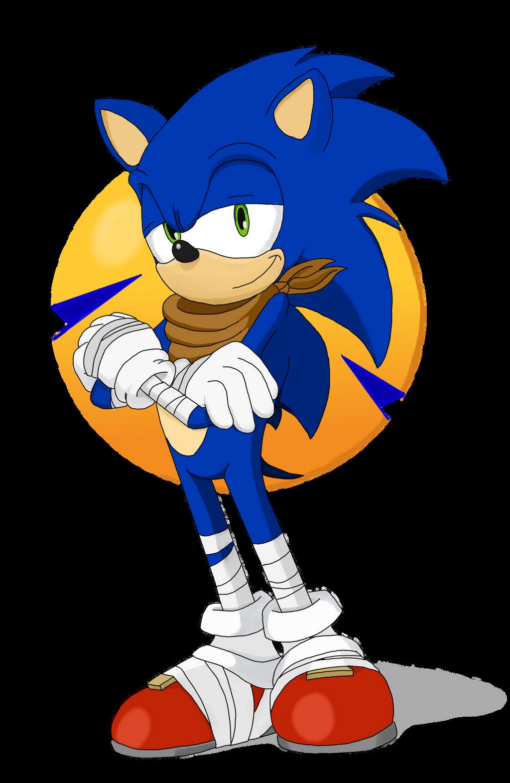 Sonic Boom: Sonic the Hedgehog by SpongeDudeCoolPants