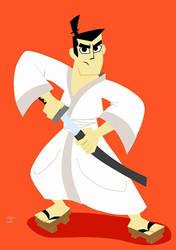 Samurai Jack by SpongeDudeCoolPants