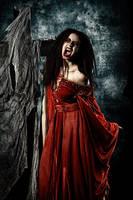 Dark Vampire Horror by Luria-XXII
