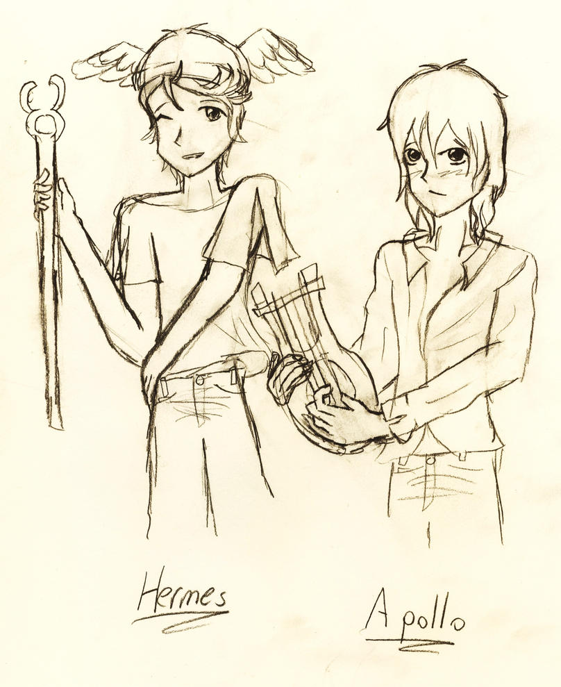 Hermes and apollo by graceless identity on deviantart hermes and apollo by graceless identity buycottarizona