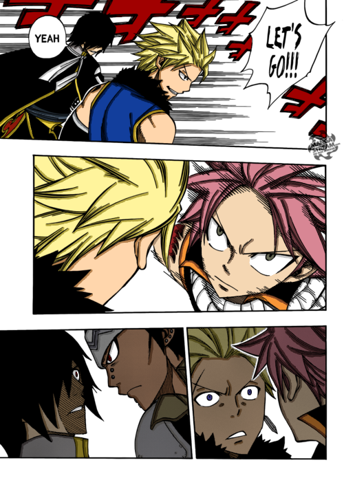 Natsu and Gajeel vs. Sting and Rogue (Fairy Tail) by ...
