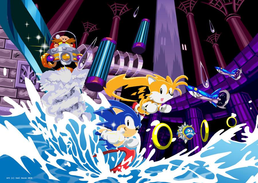 Sonic3 Hydrocity zone