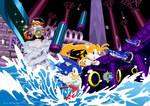 Sonic3 Hydrocity zone by Joelchan