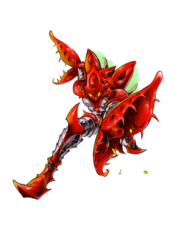 The red Zebesian Space Pirate