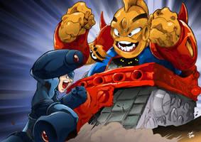 Mega Man 2 by Joelchan