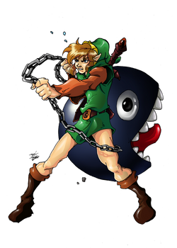 Link and Bow wow