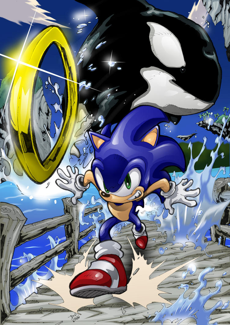 Sonic Adventure Emerald Coast by Joelchan