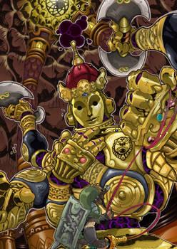 Ancient automaton KOLOKTOS