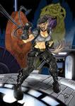 Sonya Blade versus Batman