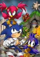Sonic 3D Rusty Ruins by Joelchan