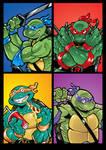4 NINJA TURTLES