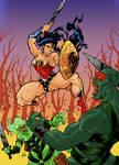 Wonder Woman - Colour version