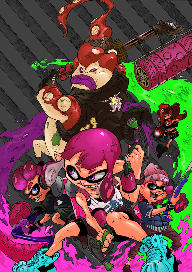 Splatoon 2 by Joelchan
