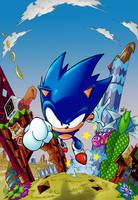 Sonic Mania mirage saloon by Joelchan