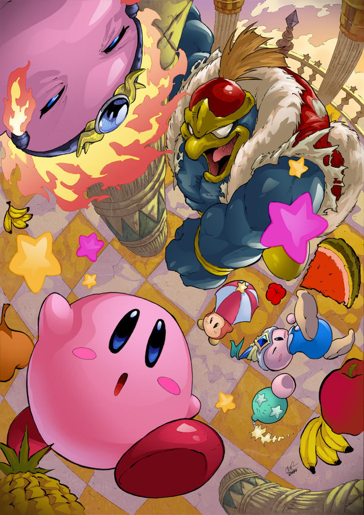 Kirby Star Allies by Joelchan