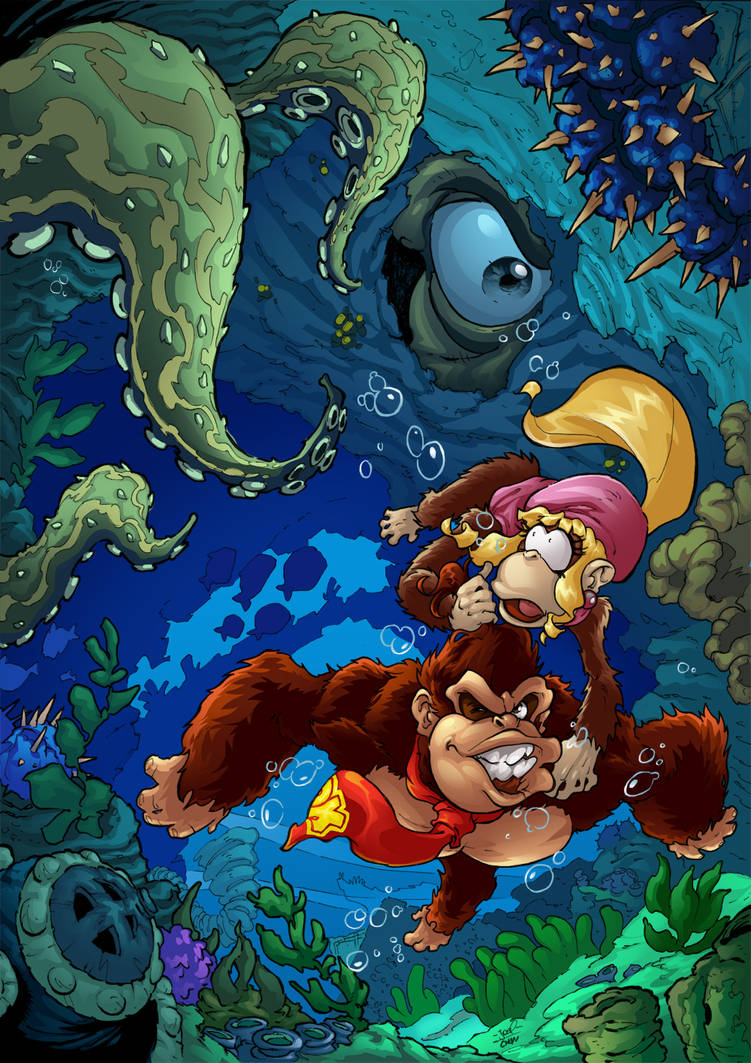 DKC Tropical Freeze Irate Eight by Joelchan