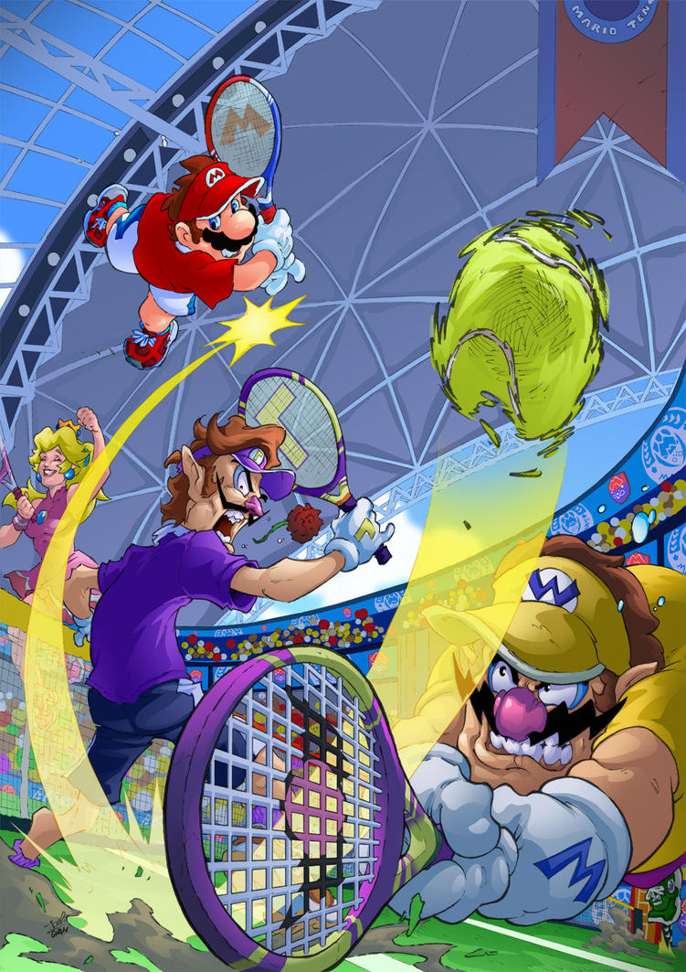 Mario Tennis Aces by Joelchan