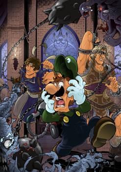 Super Smash bros. x Castlevania by Joelchan