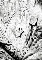 Hollow Knight City of Tears inks by Joelchan
