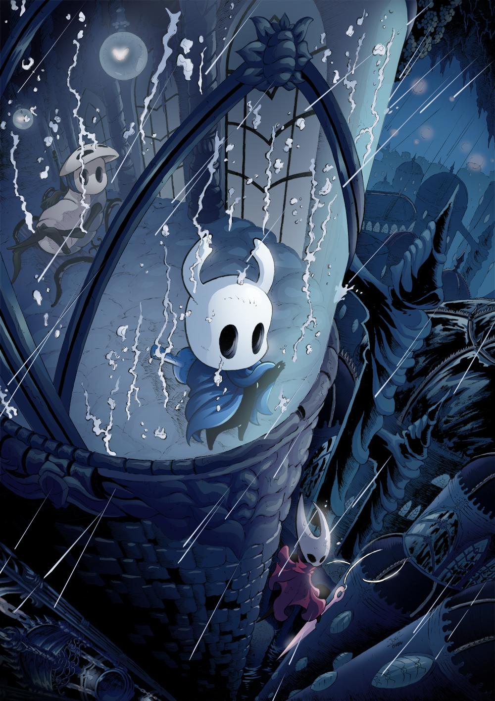 Hollow Knight City of Tears by Joelchan